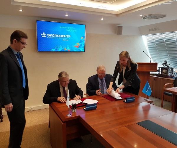 «Экспоцентр» и Союз проектировщиков России заключили новое соглашение о сотрудничестве